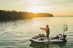 Kayak Fishing Boats The 2019 Sea-Doo Fish Pro is a Watercraft and Fishing Boat Rolled Into One Saltwater Fishing Gear, Fishing 101, Going Fishing, Kayak Fishing, Fishing Boats, Fisher, Boat Pics, Inflatable Boat, Amigurumi