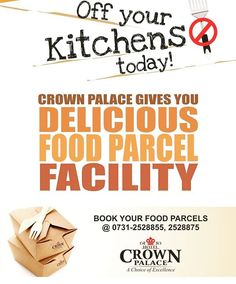 Free Home delivery Everywhere in Indore Call 0731-2528875 #bestplacetoeatever #parcel #food #foodparcel #homedelivery #cpindore http://ift.tt/1Pq6EtU - http://ift.tt/1HQJd81
