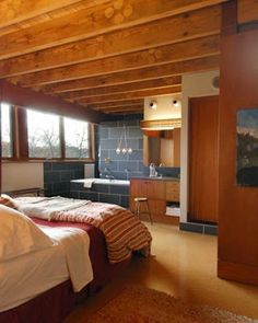 bathroom in the bedroom.  Toronto based Altius Architecture