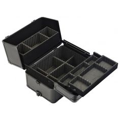 2-in-1 Aluminium Vanity Makeup Beauty Case Cosmetics Nail Hairdressing Trolley