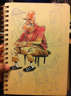 img_5123 Published August 25, 2014 in Cafe Sketches - Will Terrel