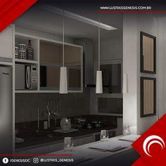 Com um ar clean e elegante, o Pendente Kitchen Prime Cone Branco deixa sua cozinha muito mais bonita!  www.lustresgenesis.com.br  #lustres #homedecor #casadecor #decoração #arandela #iluminação #lustre #cristais