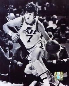 Pistol Pete Maravich...I had this very same poster hanging on my wall!