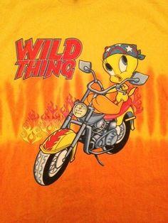 "Looney Tunes Tweety Bird T Shirt Size Adult Large ""Wild Thing"" | eBay"