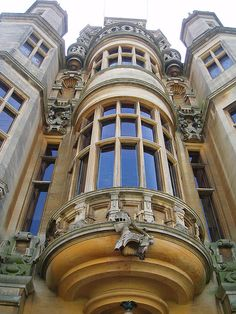 Harlaxton Manor, Harlaxton, Lincolnshire by Ned Trifle, via Flickr