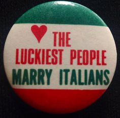 For my dear husband who is NOT Italian!