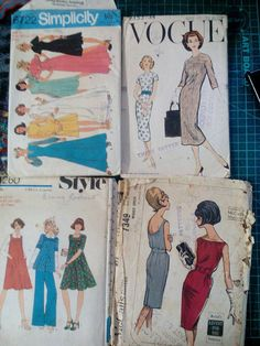 This item is unavailable Vogue Fashion, Vintage Patterns, My Etsy Shop, Trending Outfits, Unique Jewelry, Handmade Gifts, Check, Dresses, Style