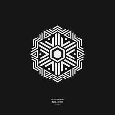 A new geometric and minimal design every day. Web Design, Motif Design, Design Art, Pattern Design, Geometric Art, Geometric Designs, Fantasy Logo, Cool Optical Illusions, Branding Design
