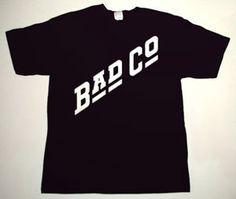 BAD COMPANY Bad Co. DELUXE ART CUSTOM T-SHIRT   Each T-shirt is individually hand-painted, a true and unique work of art indeed!  To order this, or design your own custom T-shirt, please contact us at info@collectorware.com, or visit  http://www.collectorware.com/tees-badcompanyfree_andrelated.htm