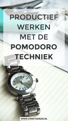 Lees alles over de pomodorotechniek! Wat is het, hoe gebruik je het effectief, waarom werkt het goed, hoe verwerk je het in je planning én wat zijn de handigste apps. Kortom, in deze blogpost vind je alles wat je nodig hebt om een time management pro te worden.