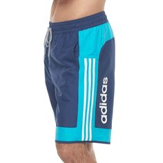 Rule the water in these men's volley swim trunks by adidas. Boxer Pants, Nike Clothes Mens, Mens Swim Shorts, Man Swimming, Sport Shorts, Sport Wear, Swim Trunks, Adidas Men, Latex Fashion