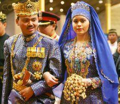 Brunei Crown Prince Al-Muhtadee & Dayangku Sarah