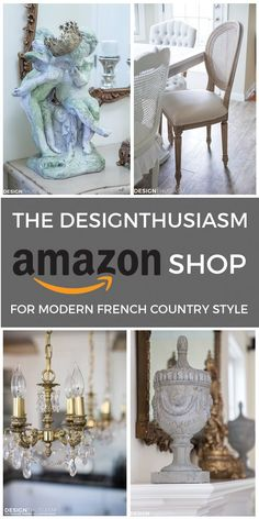 Do you love French Country decor? Here are the 6 defining style elements I use in every room to achieve modern French Country style. Modern Country, Country Shop, Modern French Country, French Country Furniture, French Country Bedrooms, French Country Cottage, French Style, Country Bathrooms, French Farmhouse