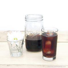 Recipe: Mason Jar Cold Brew Coffee | The Zen of Making #coffee #coldbrew #recipe #summer