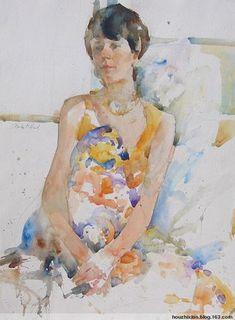 Charles Reid watercolors