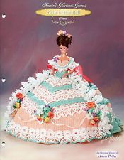 Diana, Annie's Glorious Gowns Belle of the Ball crochet pattern