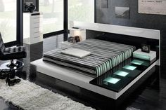 Modern bedroom furniture sets contemporary bedroom furniture new ideas modern contemporary bedroom Contemporary Bedroom Furniture, Bedroom Furniture Design, Modern Bedroom Furniture, Bedroom Modern, White Bedrooms, Unique Furniture, Furniture Ideas, Black Furniture, Small Bedrooms