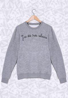 Les mecs adorent les filles vilaines =D #vilaine #trèsvilaine #sweat #saintvalentin