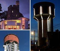 Modern Castles: 7 Cool Converted Watertower Houses   Urbanist