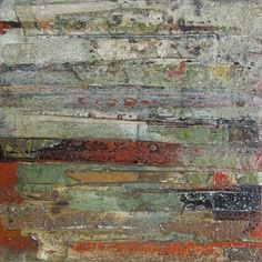 what happens if I make blocks and then ding them up, dust them, and re-stack? Collage Art, Collages, Wallpaper Layers, Abstract Paintings, Abstract Art, Creative Connections, Encaustic Art, Contemporary Artwork, Fantastic Art