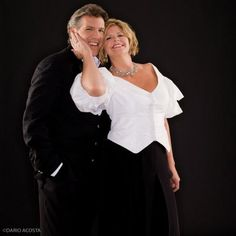 Thomas Hampson (Merola 1980) & Susan Graham (Merola 1987). See all our amazing Merola Opera Program alumni: http://merola.org/alumni-listings#s