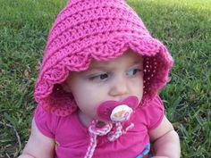 Poochie Baby Crochet Designs: Pixie Hood Hat: Free Crochet Pattern