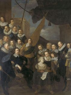 Fig. 13 Joachim von Sandrart, Company of Captain Cornelis Bicker and Lieutenant Frederick van Banchem, 1640. Rijksmuseum, Amsterdam, inv. no. SK-C-393, on loan from the city of Amsterdam, inv. no. SA 7399 (artwork in the public domain)