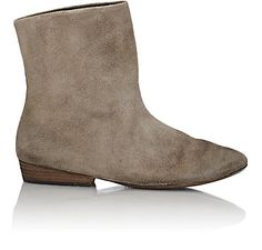 Marsèll Distressed Suede Ankle Boots - Ankle Boots - Barneys.com