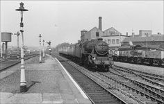 A view looking west towards Stanningley, to the right of the train stands the chimney and buildings of Turner Tanner, a well known local engineering firm. Leeds City, British Rail, My Town, Bradford, Locomotive, Old Photos, Yorkshire, Trains, Funny Stuff
