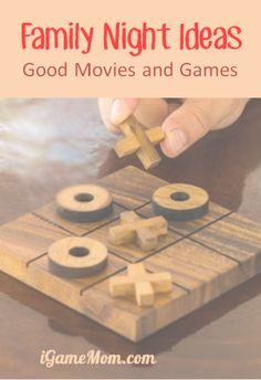 Family Night Ideas: good family night games and movies, including fun activities on iPad and other mobile devices, and kids friendly movies on Netflix.