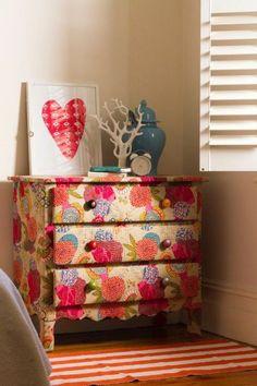 Decoração e Projetos   – 10 Ideias de Móveis Decorados com Decoupage