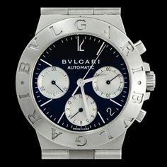 BULGARI-DIAGONO, CH 35 S, 36mm, acier. disponible sur notre site  joaillerie-royale.com 3a08278ac3b