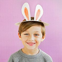 Dish up a paper-plate #Easter hat that is sure to make your little bunny hop with delight!