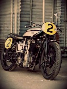 Vintage Norton Racer
