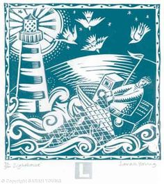 """Sea Alphabet: L for Lighthouse"" by Sarah Young"