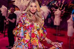 Elsa Hosk -- the Victorias Secret Fashion Show 2015, November 10th (live)/ Dec. 8 on CBS (6.6 M viewers). Performers: Ellie Goulding, Selena Gomez, and The Weeknd | #VSFS #VSFS_2015