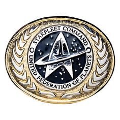 Star Trek United Federation of Planets Buckle - $89.99 from Entertainment Earth.