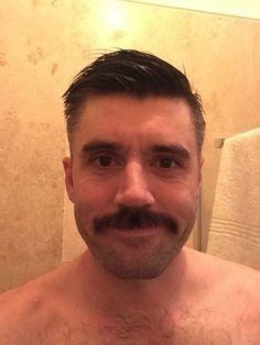 All about the stache Walrus Mustache, Mustache Styles, Beard No Mustache, Handsome Faces, Most Handsome Men, Handsome Boys, Beard Images, Beard Art, Scruffy Men