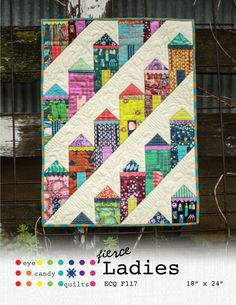 House Quilt Patterns, House Quilt Block, House Quilts, Quilt Blocks, Block Patterns, Pattern Ideas, Sewing Patterns, Scrappy Quilts, Mini Quilts