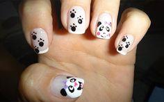 Esmalte das leitoras: pandas! - Clube do Esmalte - CAPRICHO
