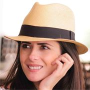 Panama Cuenca Hat - Plantation (Ausin) Light Brown for Women  (Grade 3-4)