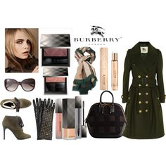 Burberry Make Up and Fashion Trend 2012