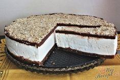 Fenomenální nugátový cheesecake. Základ tvoří sušenky, vnitřek vynikající mascarpone a šlehačka a na vrchu vynikající milka čokoláda se zakysanou smetanou. Nutella, Cheesecake Recipes, Cheesecakes, Tiramisu, Food Photography, Food And Drink, Snacks, Cookies, Baking