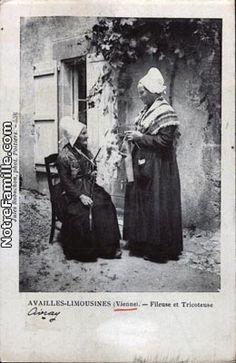 Fileuse et tricoteuse (Vienne)