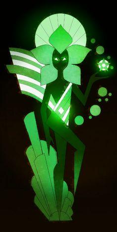 Green diamond Steven  Universe