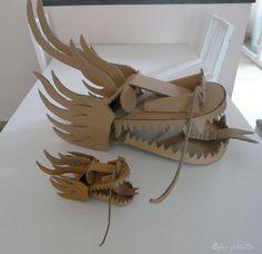 Têtes de dragon / Dragon heads https://www.facebook.com/feefollette.home