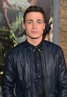 His hair and eyebrows and jaw are actually scientifically without flaw. Colton Haynes...GORGEOUS. #HotDang #again