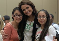 On Saturday, March 23, 2013, the Arbonne Charitable Foundation hosted an event in Las Vegas, Nevada, for members of Big Brothers Big Sisters of Southern Nevada to talk about self-esteem, relationship safety, life goals and empowerment.