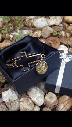 A personal favorite from my Etsy shop https://www.etsy.com/listing/287781541/monogrammed-cross-german-silver-gold
