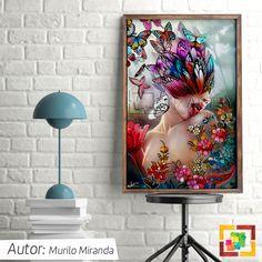 É um quadro mais lindo que o outro! <3 Acesse: www.mixartsy.com